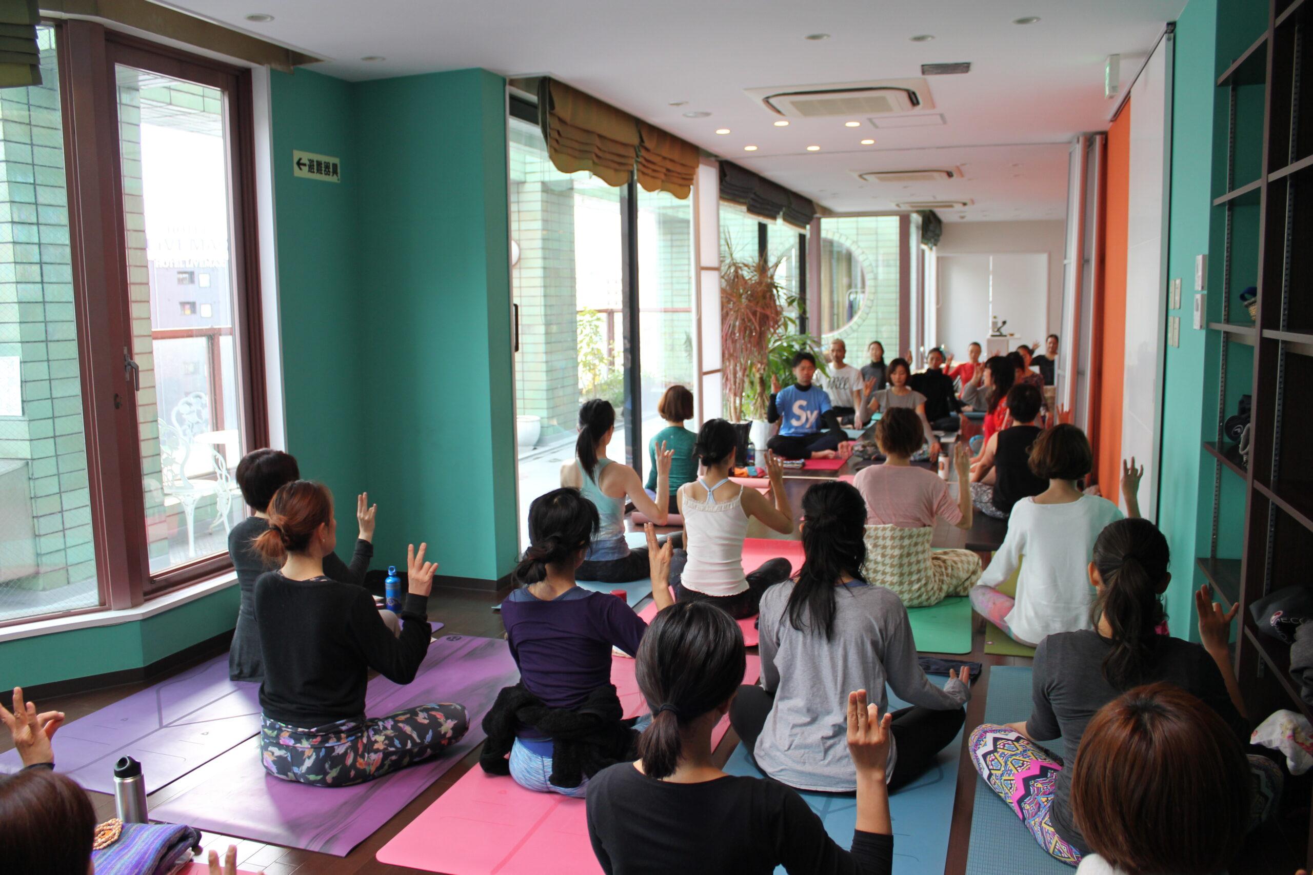呼吸法&瞑想  6月5日